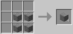 磨かれた安山岩