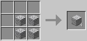 磨かれた閃緑岩のレシピ