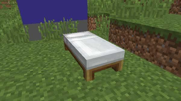 設置されたベッド