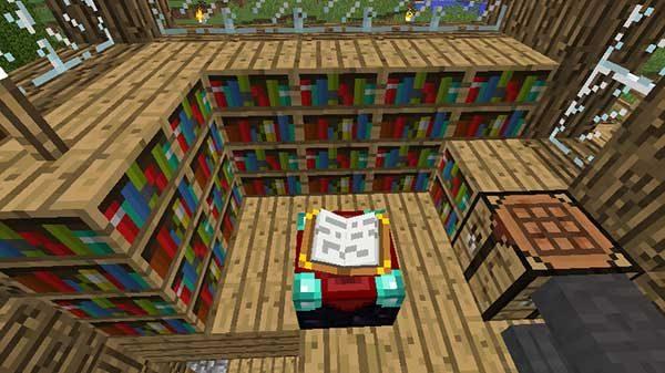 本棚とエンチャントテーブル