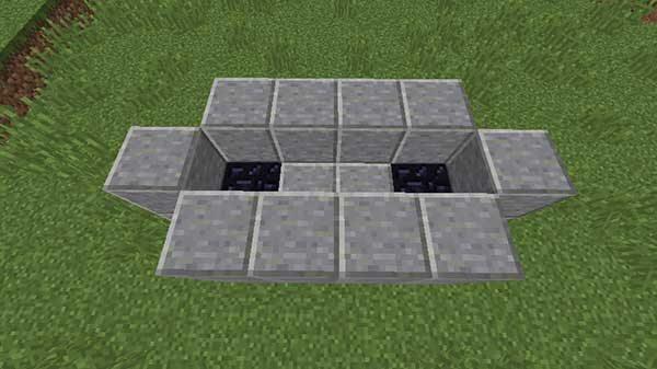一段高い型枠用ブロック