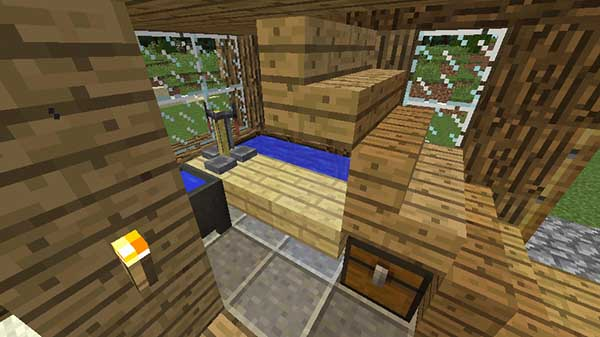 階段の下の無限水源