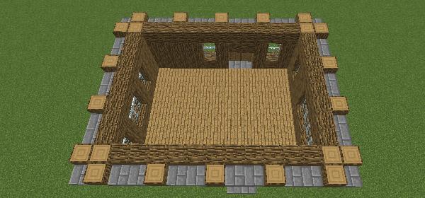一階の屋根
