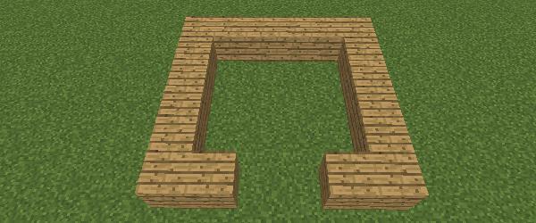 馬小屋の基礎