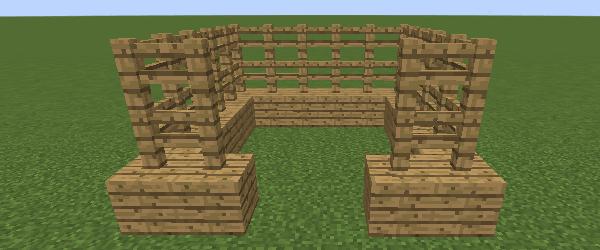 馬小屋の壁