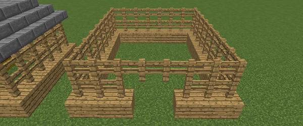 豚小屋の壁