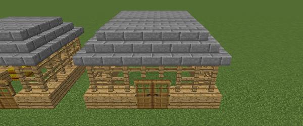 豚小屋の屋根