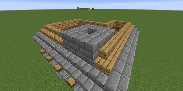 石レンガの煙突2