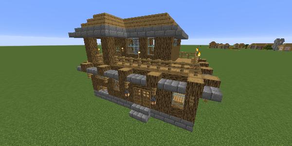 完成した家