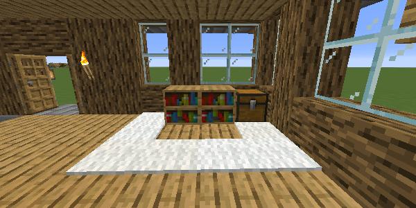 ベッドスペースのカーペット