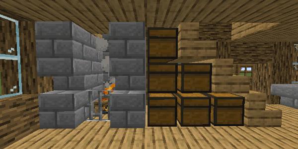 暖炉・倉庫