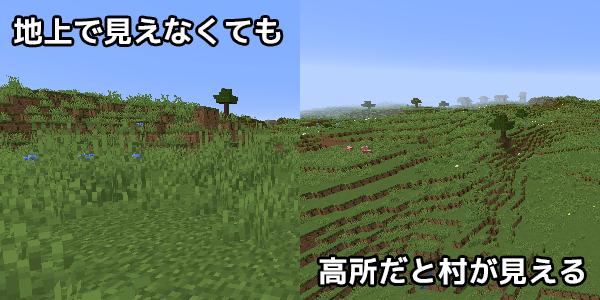 地上と高所の景色の違い
