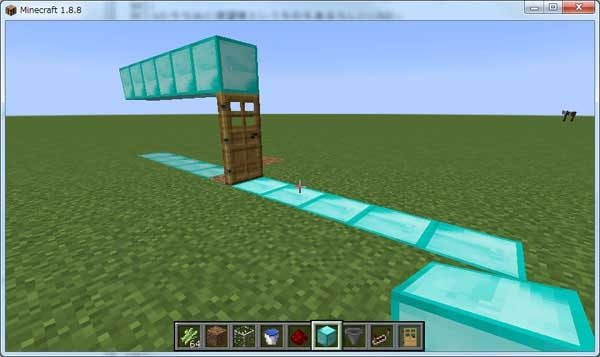 ドアが家と認識される条件の実験