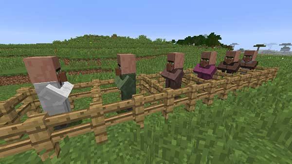 村人の職業