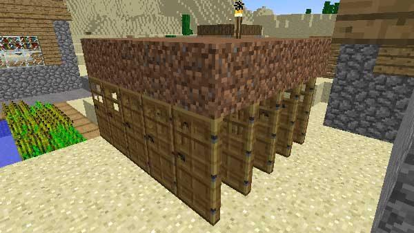 村人増殖用のドア