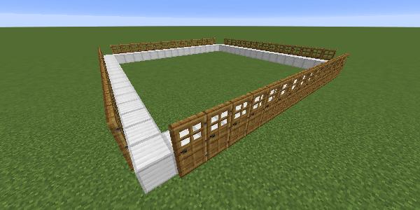 ドアの設置例1
