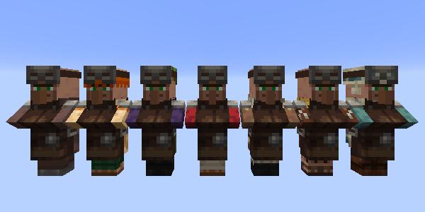 防具鍛冶の村人