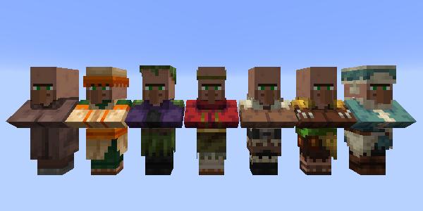 求職中の村人
