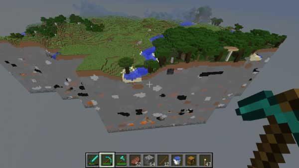 廃坑を含むチャンク