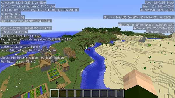草原の村と砂漠の村