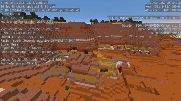メサバイオームの廃坑