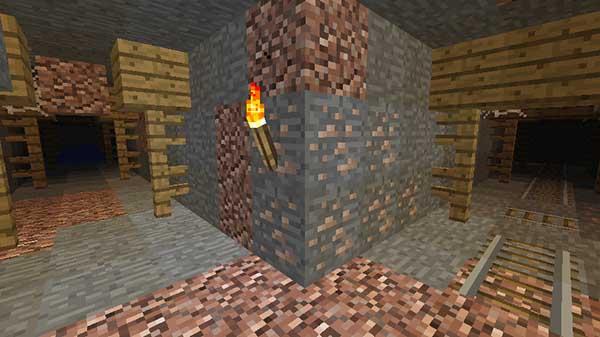 廃坑の坑道