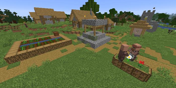 最寄りの村