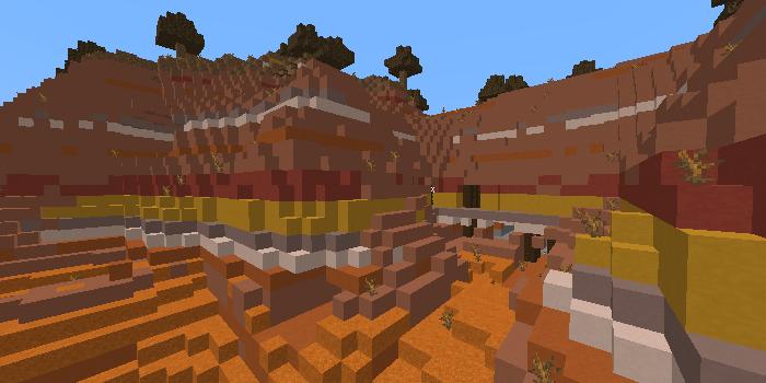 メサの廃坑