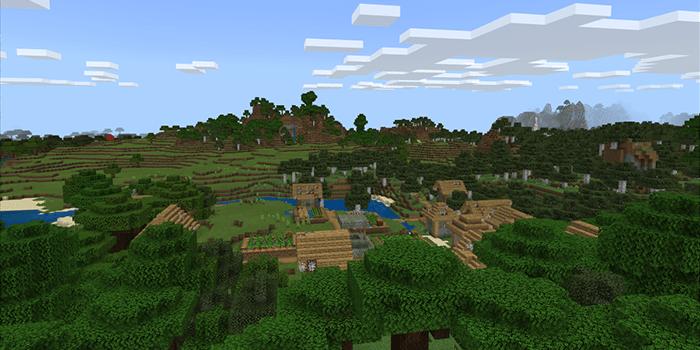 草原のゾンビ村