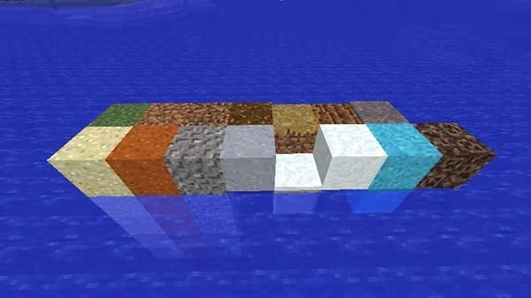シャベルで早く掘れるブロック