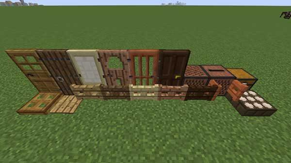 木製の設置物