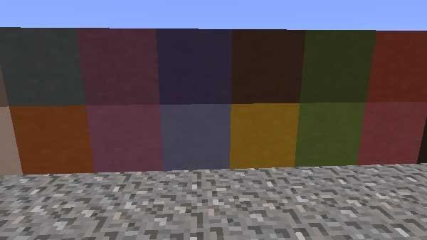 全16色の色付きテラコッタ