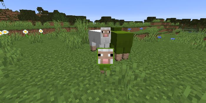 の 染料 緑 マイクラ