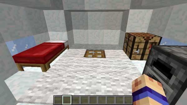 カーペットの下のトラップドア