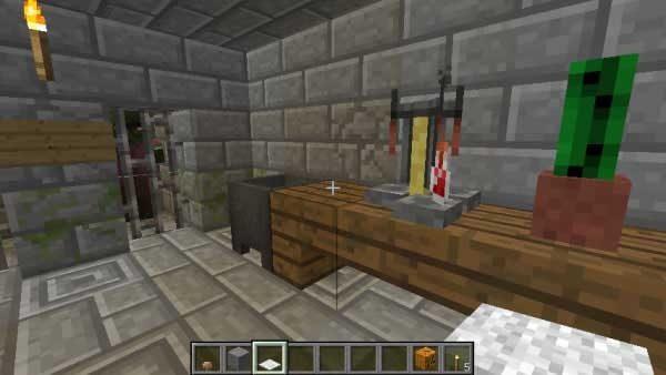 テーブルの上の醸造台