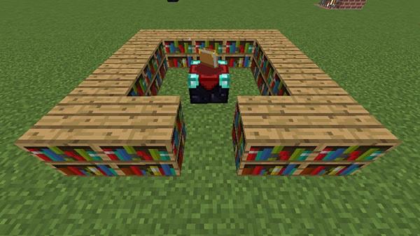 15個の本棚