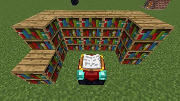 二段重ねの本棚