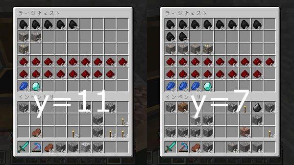 入手できた鉱石の数