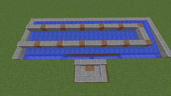 12個の土ブロック