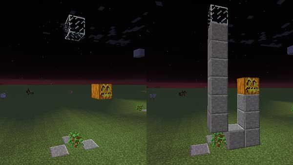 設置された制限ブロック