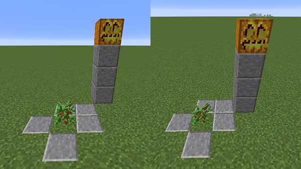 斜めの制限ブロック