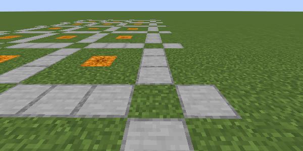 植林場の通路