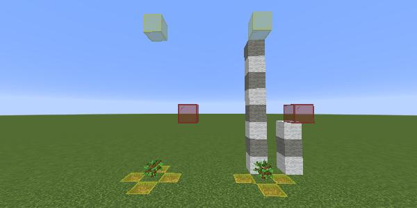 オークの制限ブロックの位置