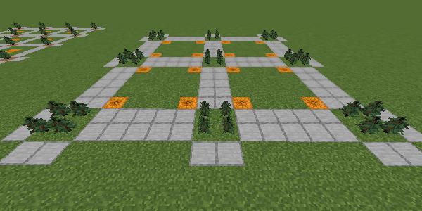 マツの巨木用の植林場