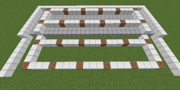 土と通路の設置完了