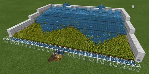 3段式2連小麦自動収穫機