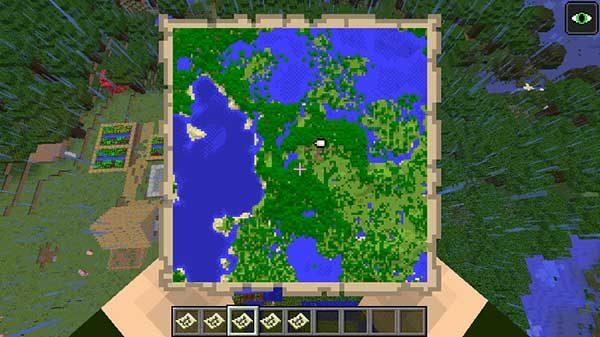二段階拡張した地図
