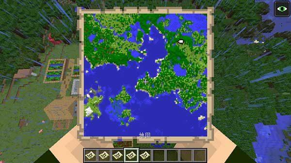三段階拡張した地図