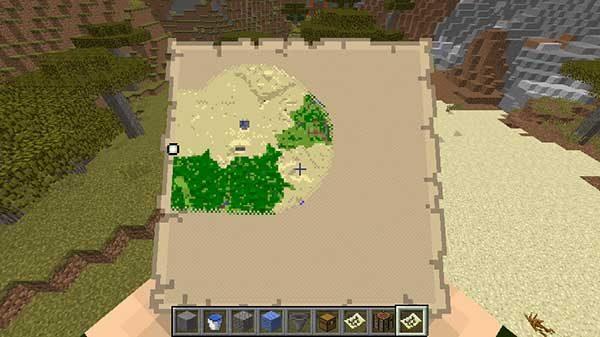 丸くなった地図のアイコン