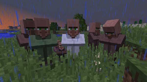 製図家とその他の村人
